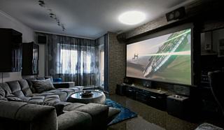 Домашний кинотеатр: проектор или телевизор?