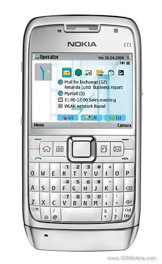 Обзор мобильного телефона Nokia E71