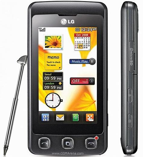 Мобильный телефон LG KP500 Cookie: вкус сенсорных технологий по доступной цене