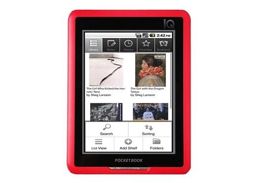 Ридер-планшет на базе Android: PocketBook IQ 701
