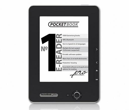 PocketBook Pro 612: красивая читалка с 6-дюймовым экраном и Wi-Fi