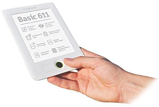 PocketBook 611 Basic: бюджетный 6-дюймовый ридер с Wi-Fi