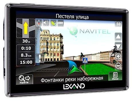 Lexand STR-5350 HD+:  5-дюймовый GPS-навигатор с качественным экраном и «пробками»