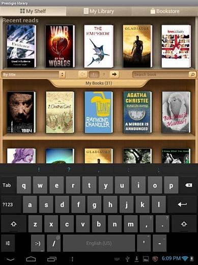 Подробный обзор eReader Prestigio App для чтения книг с поддержкой Adobe DRM на Android