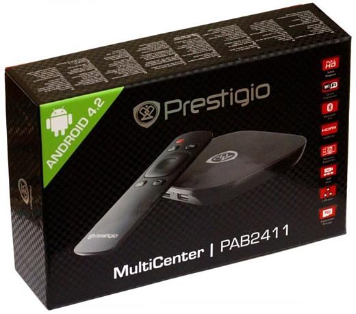 Обзор медиа плеера Prestigio MultiCenter Box